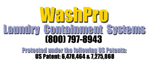 WashPro Laundry Containment Systems